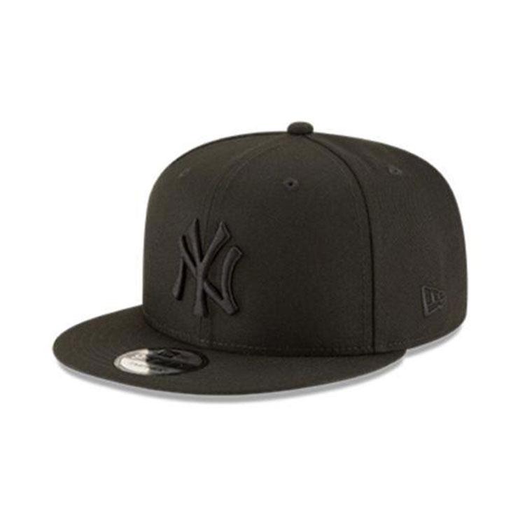 Gorra New Era 59fifty NY Yankees Black on Black negro ...